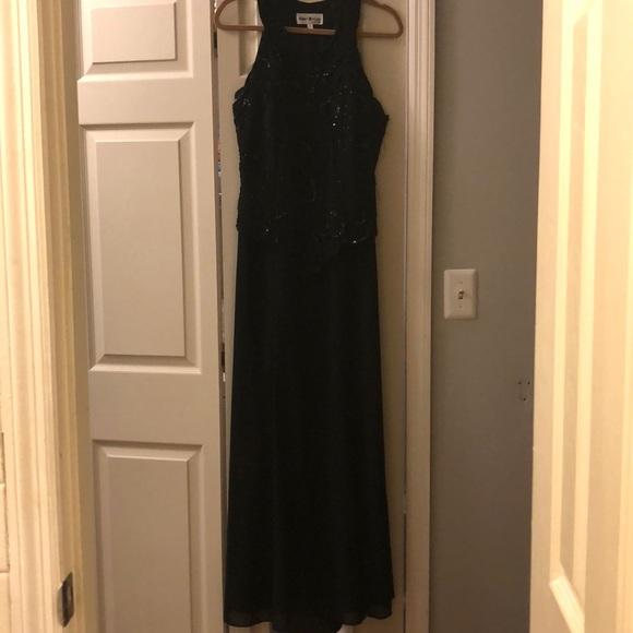 Karen Millen Dresses Karen Miller Black Evening Gown Size 14